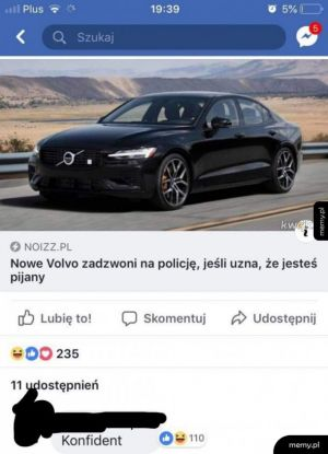 Volvo konfidentem ?