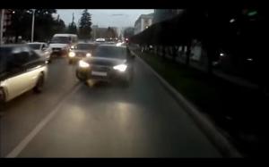 Lekcja jazdy na drodze dwukierunkowej