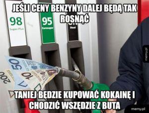 Ceny benzyny
