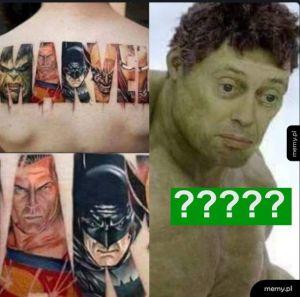 Hulk nie rozumieć