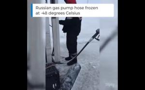 Stacja benzynowa w Rosji