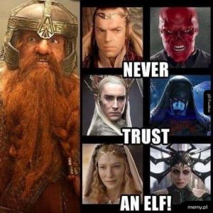 Nie ufaj Elfom !