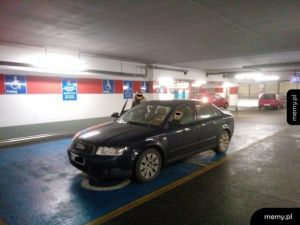 Nie tylko w BMW jeżdżą inwalidzi umysłowi
