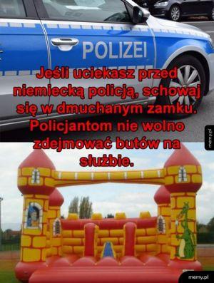 Niemiecka policja