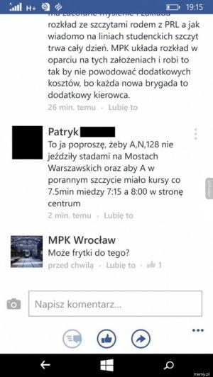 MPK Wrocław wchodzi w nowy obszar usługowy - gastronomia