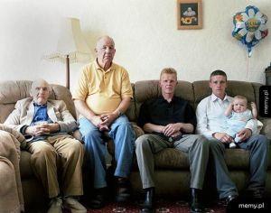 Pięć pokoleń