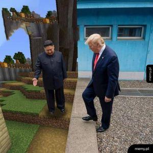 Witamy w Korei Północnej, towarzyszu Trump