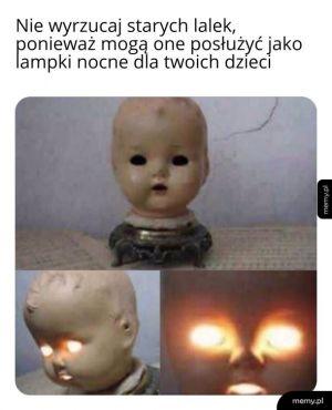 Lampki nocne dla dzieci