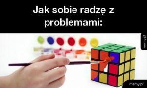 Jak sobie radzę z problemami