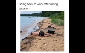 Tak to jest po wakacjach..