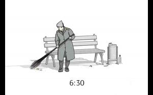 Codzienne życie na ławce