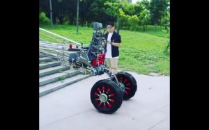 Wózek inwalidzki przyszłości