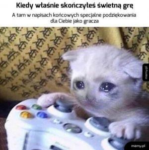 Ciężko nie uronić łzy