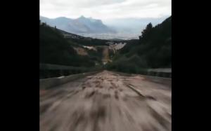 Przelot dronem