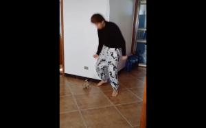 Najpierw ja tańczę, potem ty!