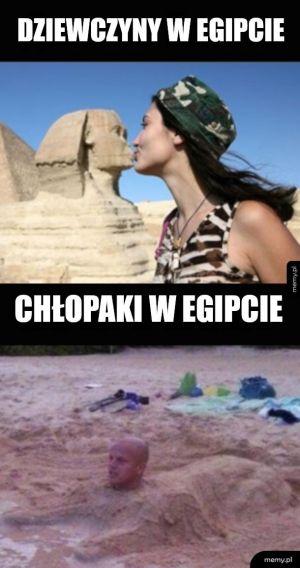 Egipt uwieczniony na zdjęciach