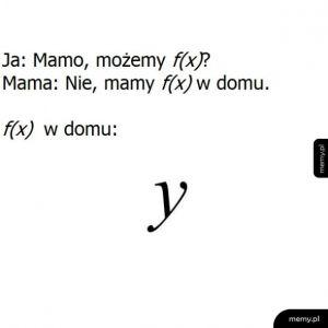 Mamo, możemy f(x)?