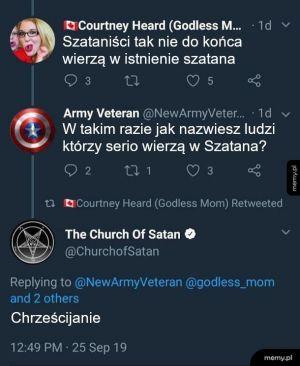 Kto wierzy w diabły?