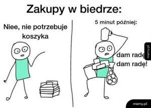 Zakupy w Biedrze