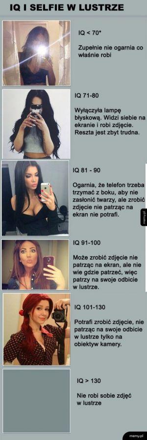 IQ i selfie