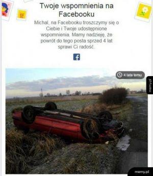 Troskliwy facebook