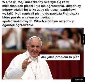 Franciszek ogarnie