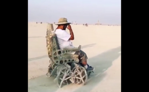 Pełzające krzesło
