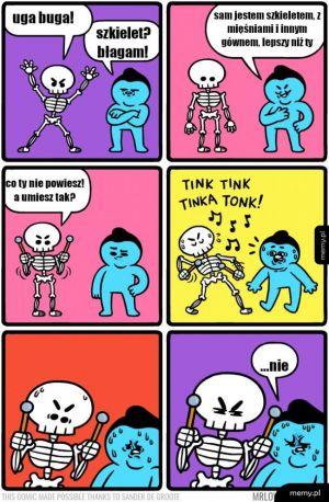 Są szkielety i szkielety