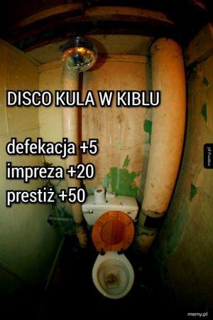 Disco kula