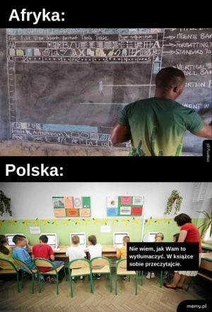 Afryka vs Polska