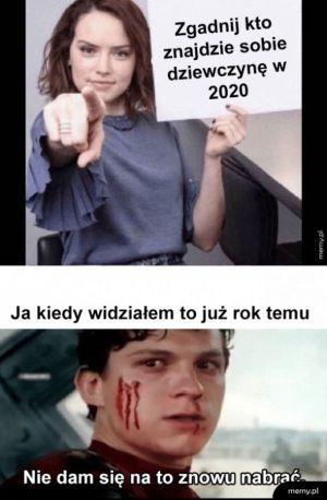 Dziewczyna w 2020