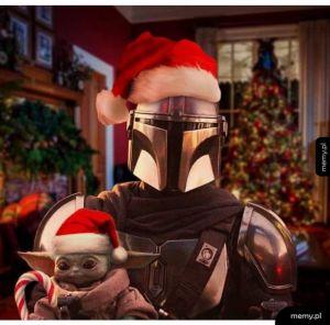 Świąteczny Yoda