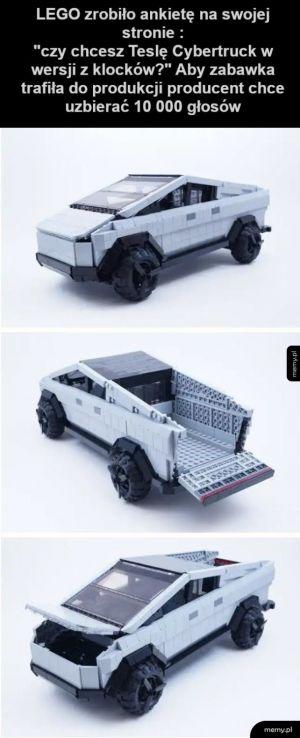 Lego Tesla