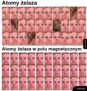 Atomy żelaza