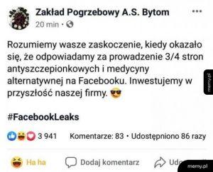 #FacebookLeaks