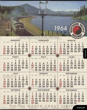 W 2020 roku możesz używać kalendarza z '64.