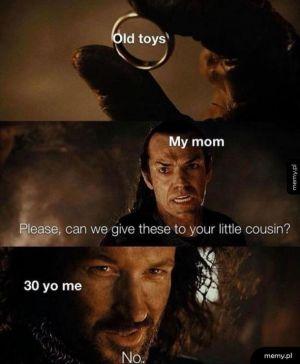 Oddaj zabawki