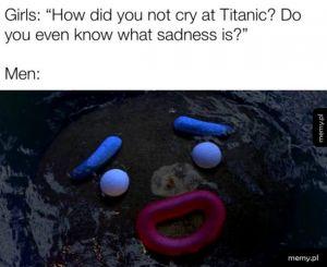Nie płaczę, to ty płaczesz *zaciera oczy*