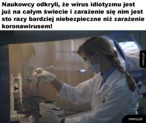 Niebezpieczny wirus