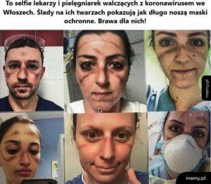 Selfie lekarzy
