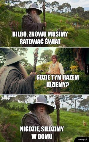Gandalf przybył