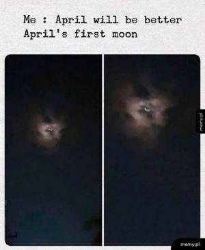 April's moon