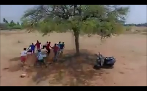 Uciekanie przed dronem w czasie kwarantanny