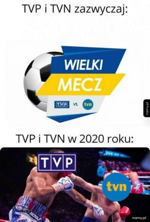 Walka TVP i TVN