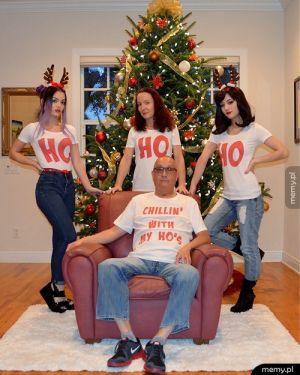 Rodzinna świąteczna fotografia