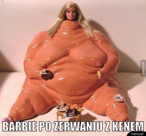 Barbie po zerwaniu...