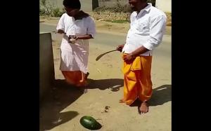 Przecinanie arbuza