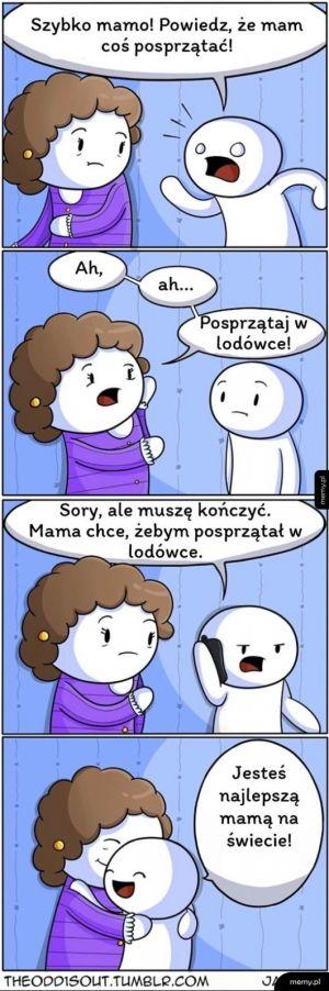 Mama prawdziwym bohaterem jest