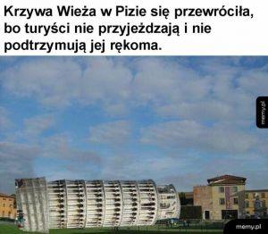 Biedna wieża :(