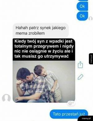 Rozmowa z ojcem